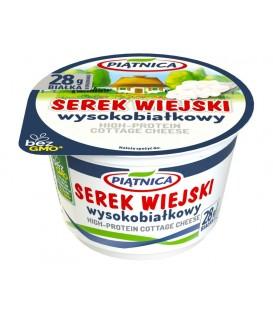 Piątnica Serek Wiejski Wysokobiałkowy 200g