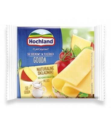 Hochland Gouda Ser topiony w plastrach 130 g