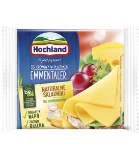 Hochland Emmentaler Ser topiony w plastrach 130 g
