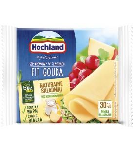 Hochland Fit Gouda Ser topiony w plastrach 130 g (9 plastrów)