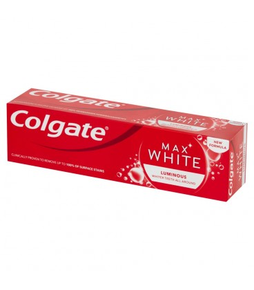 Colgate Max White Luminous Pasta z fluorem 75 ml