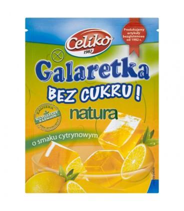 Celiko galaretka o smaku cytrynowym b/c b/g 14g
