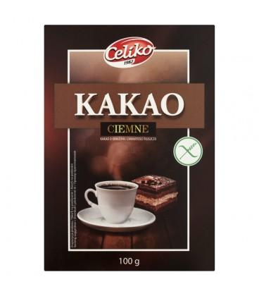 Celiko Kakao Nat. Ciemne bezglut.100g