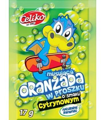 Celiko Oranżada w Proszku o sm.Cytrynowym 17g