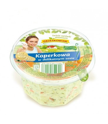 Grześkowiak Surówka koperkowa w delikat.sosie 300g