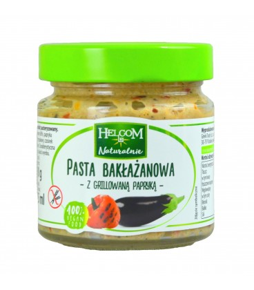 Helcom Pasta Bakłażanowa z grillowaną Papryką 190g