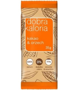 Kubara Baton Kakao i Orzech 35g