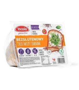 Incola Bezglutenowy Chleb Świeży z Ziarnami 350g
