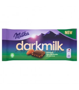 Czekolda Milka DarkMilk Almond 85g