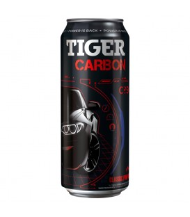 Tiger Carbon Napój Energetyczny 0,5LGazowany