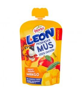 Leon Mus Owocowy Jabłko-Banan-Mango 100g