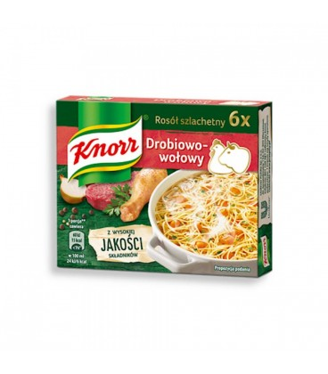 Knorr Bulion Drobiowo-Wołowy 3l.