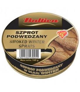 BMC Szprot Podwędzany w Oleju Winter 170g