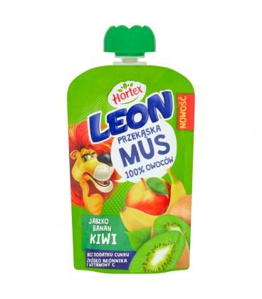 Leon Mus Owocowy Jabłko-Banan-Kiwi 100g