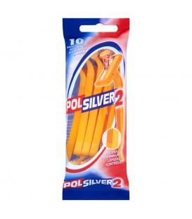 Gillette polsilver maszynka jednoczęściowa 10szt