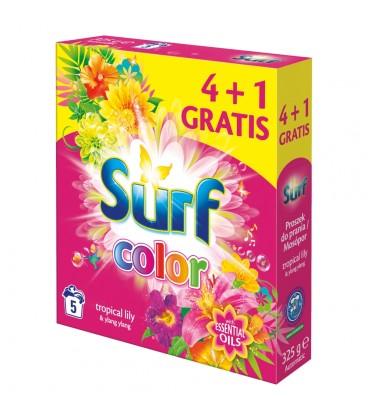 Surf Pink 5W 325g.Proszek d/prania Kolor