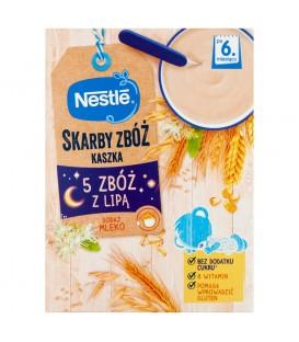 Nestle Kaszka 5zbóż lipa zdrowy brzuszek 250g