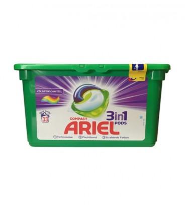 Ariel 33 Kapsułki 3w1 Pods Color