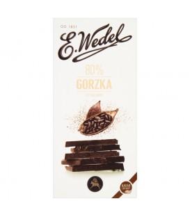 Wedel Czekolada Premium Mocno Gorzka 80% 100g