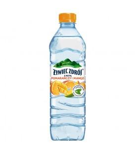 Żywiec Zdrój z nutą mango i pomarańczy 0,5L n/gaz