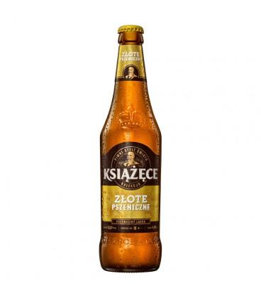 Książęce Złote Pszeniczne butelka 500ml