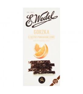 Wedel Czekolada Premium Gorzka z Pomarańczami 100g
