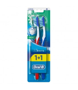 Oral-B 3D Fresh szczoteczka do zębów średnia 2szt