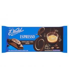 Wedel Czekolada Gorzka z Nadzieniem Espresso 100g.