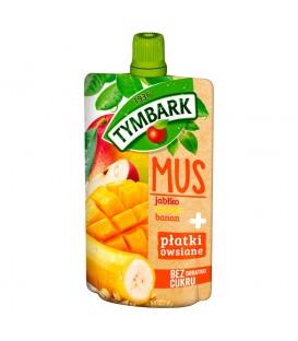 Tymbark Mus mango+pł owsiane 100g