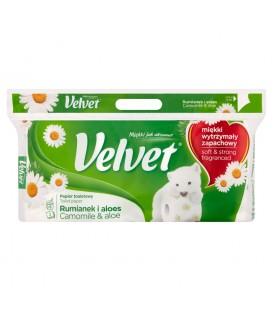 Velvet papier toaletowy 8szt rumianek