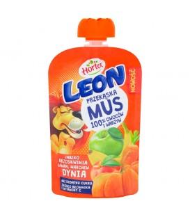 Leon Mus Owocowy Jabłko-Brz-Banan-March-Dynia100g