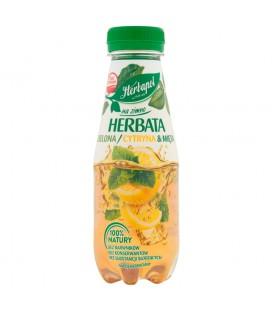 Herbapol Herbata naZimnoZielonaCytryna&Mięta300ml