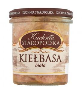 Kuchnia Staropolska Kiełbasa biała 300g