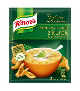 Knorr zupa krem z kurek 59g premium
