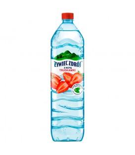 Żywiec 1,5L woda niegazowana truskawkowa skołykyk