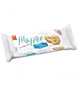 Cukry Nyskie herbatniki fit&free waniliowe 120g