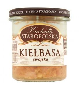 Kuchnia Staropolska Kiełbasa swojska 300g