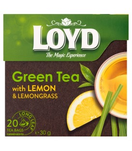 Mokate herbata zielon z cytryną 20tb piram.