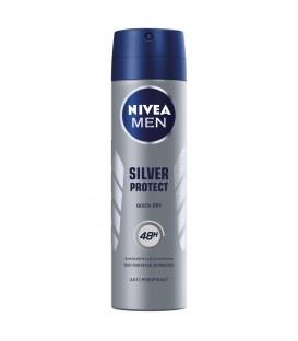 Nivea Spray Men Silver Protect 150ml