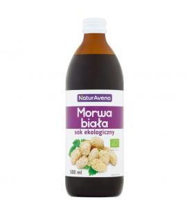 Bioavena sok z morwy białej 100% b/c 500ml