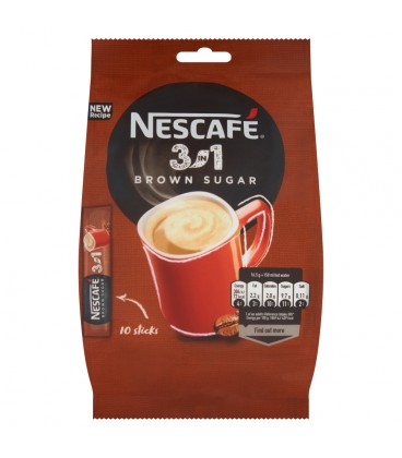Nescafe 3in1 Brown Sugar Torba 18(10*16,5G)