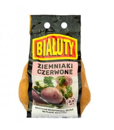 Białuty ziemniaki czerwone 2,5kg