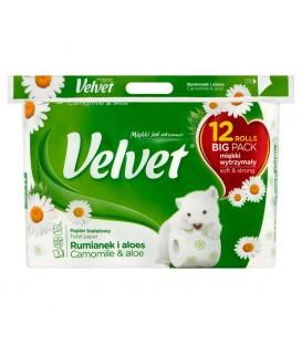 Velvet papier rumianek 9+3