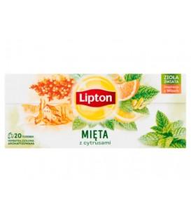 Lipton Citrus Mint 20szt.
