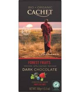 CA Czek.Bio/Org.Dark 57% Forest Fruits 100g