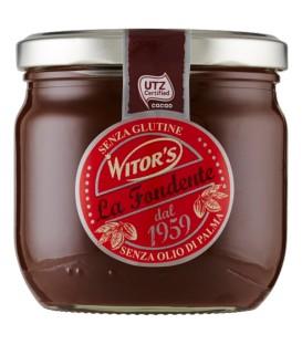 Włoska czekolada deserowa do smarowania b/gl 360g