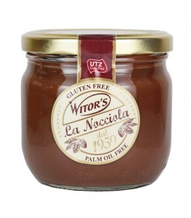 Włoska czekolada orzechowa do smarowania b/gl 360g