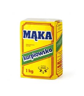 Mąka Kurpiowska 1kg Zespół Młynów Jelonki
