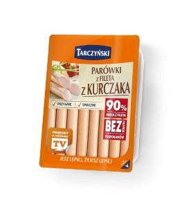 Tarczyński Parówki z fileta 180 g (2 x 90 g)