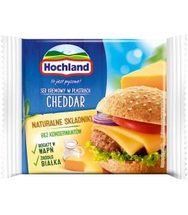 Hochland Cheddar Ser topiony w plastrach 130 g